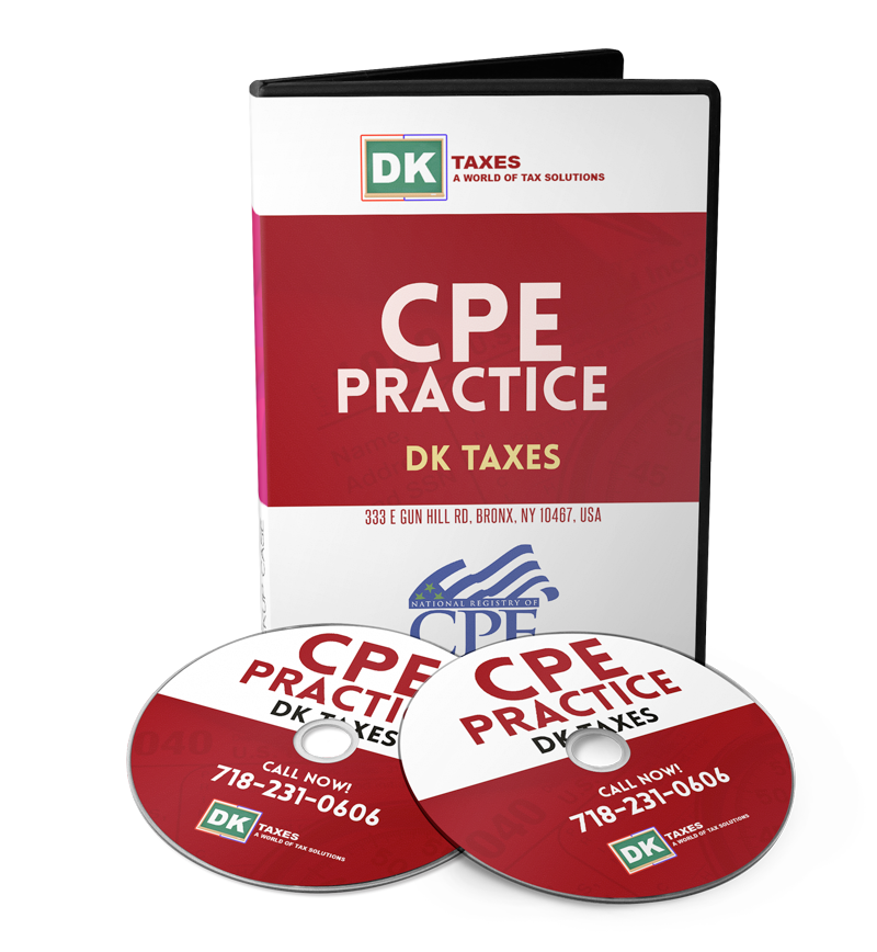 2018 CPE TRAINING – DK TAXES